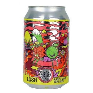 Amundsen - Lush - Rasp & Lime Berliner - 330ml Can
