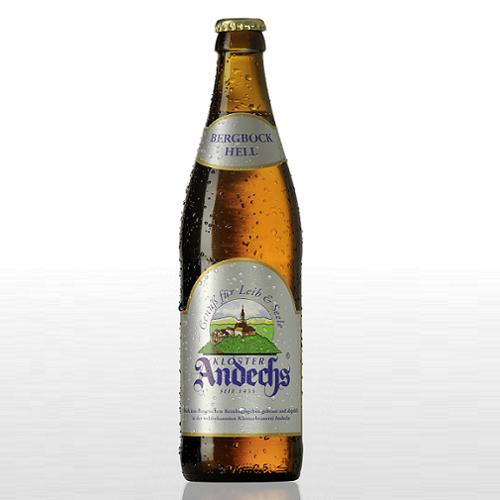 Andechs - Bergbock Hell - German Bock Beer - 500ml Bottle