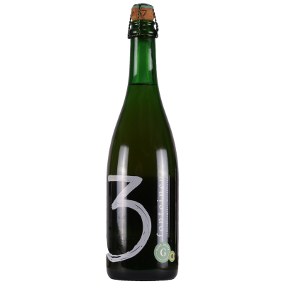 3 Fonteinen - Oude Geuze Cuvée Armand & Gaston Honey - Belgian Lambic Beer - 375ml Bottle