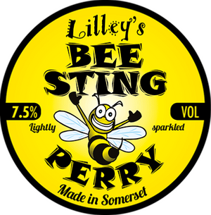 Lilleys Cider - Bee Sting - Perry - 3 litre Box
