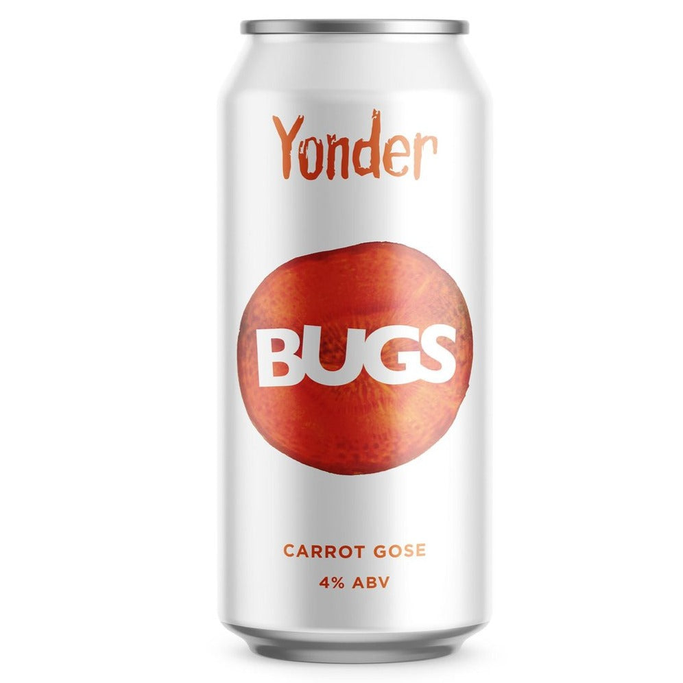 Yonder Brewing - Bugs - Carrot Gose - 440ml Can
