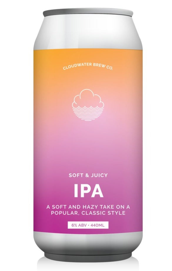 Cloudwater - Soft & Juicy - IPA - 440ml Can