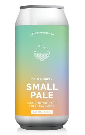 Cloudwater - Bold & Hoppy - Small Pale - 440ml Can