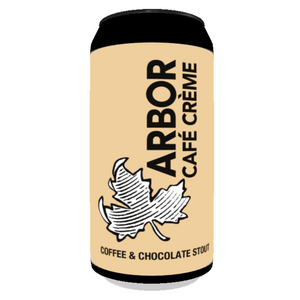 Arbor Ales - Cafe Creme - Coffee & Chocolate Stout - 440ml Can