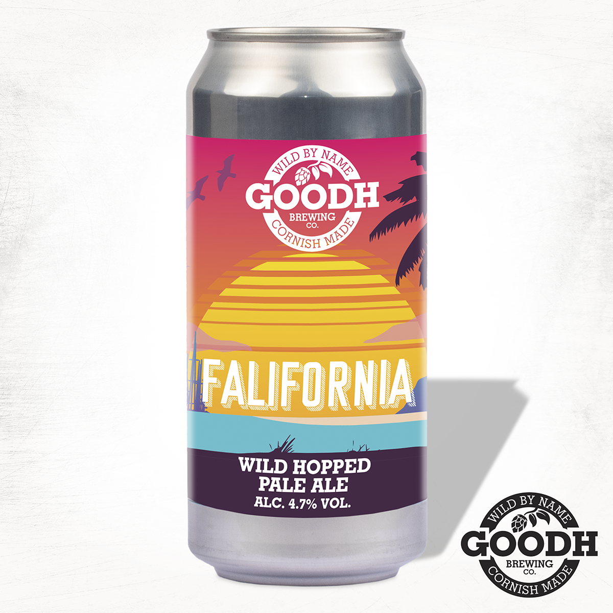 Goodh Brewing - Falifornia - Wild Hopped Pale Ale - 440ml Can