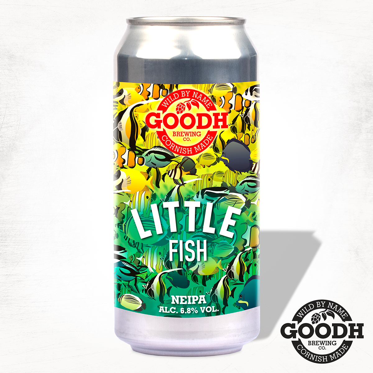 Goodh Brewing - Little Fish - NEIPA - 440ml Can