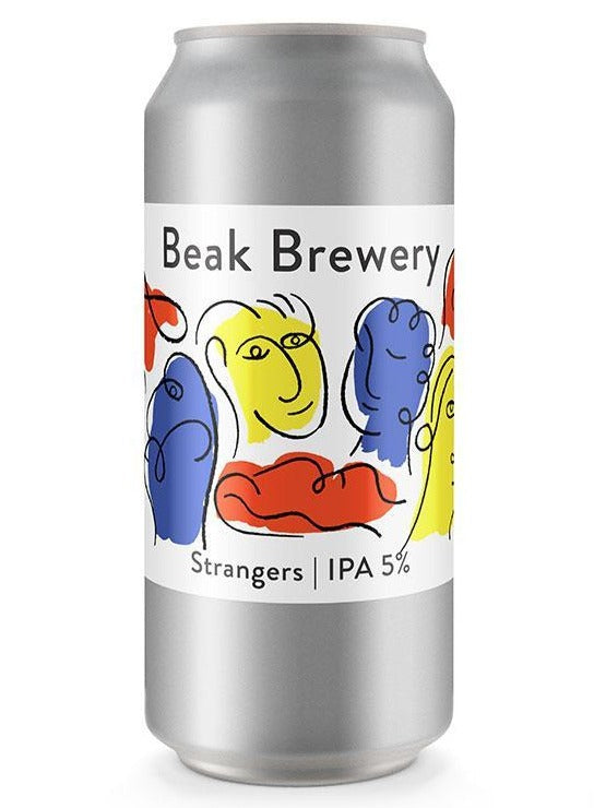 Beak Brewery - Strangers - India Pale Ale - 440ml Can