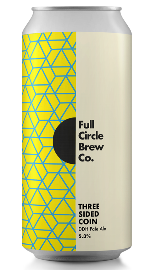 Full Circle Brew Co - Three Sided Coin - DDH Pale Ale - 440ml Can