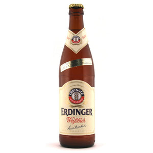 Erdinger - Weissbier - Premium Wheat Beer - 500ml Bottle