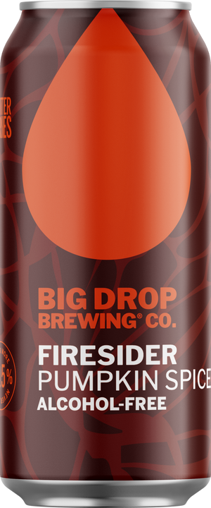 Big Drop Brewing Co - Firesider - Alcohol Free Pumpkin Spiced - 440ml Can