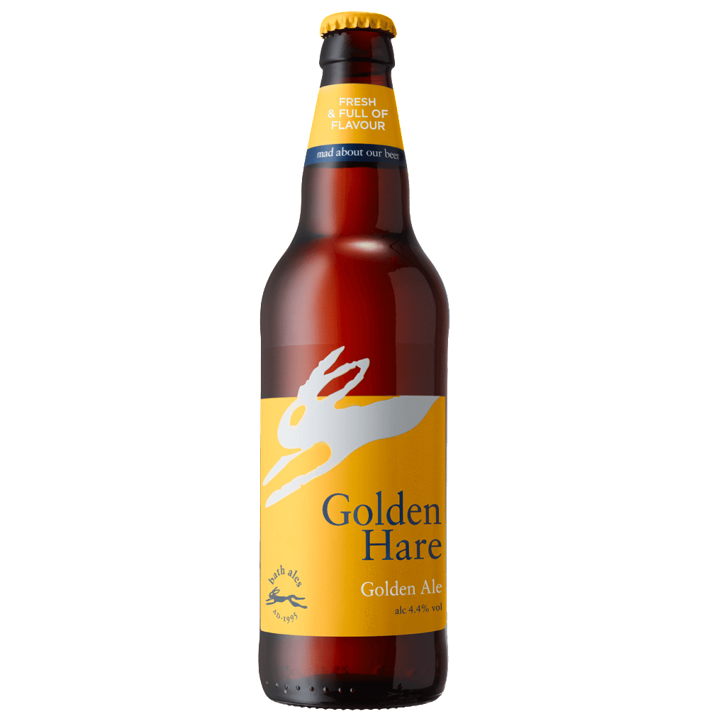 Bath Ales - Golden Hare - Light Ale - 500ml Bottle
