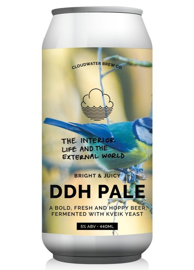 Cloudwater - The Interior Life and the External World - DDH Pale - 440ml Can