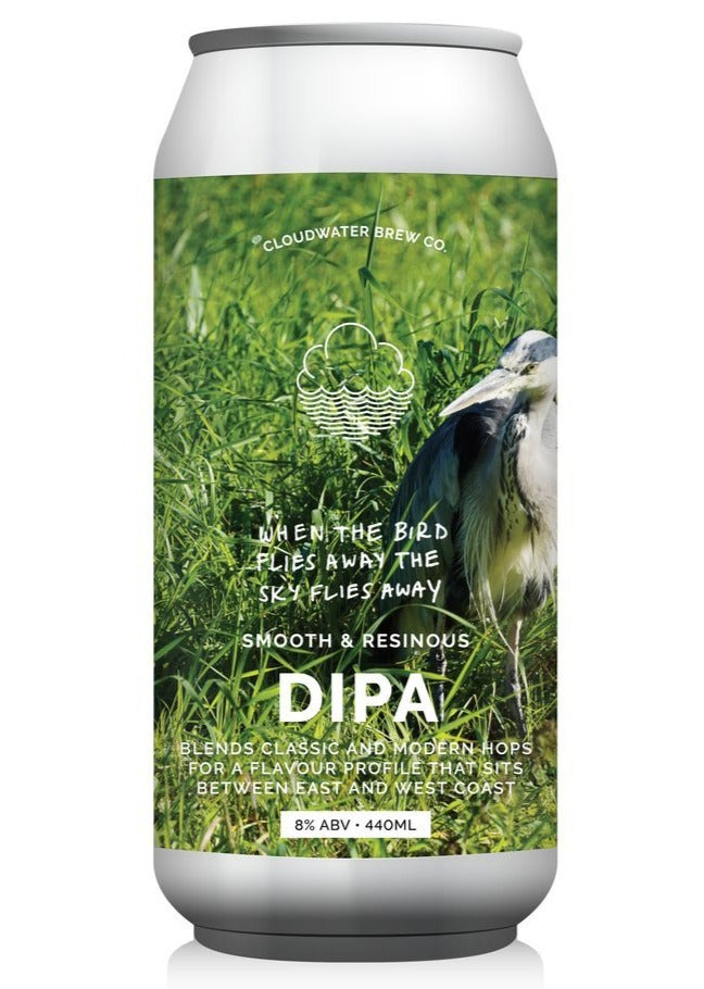 Cloudwater - When the Bird Flies Away the Sky Flies Away - DIPA - 440ml Can