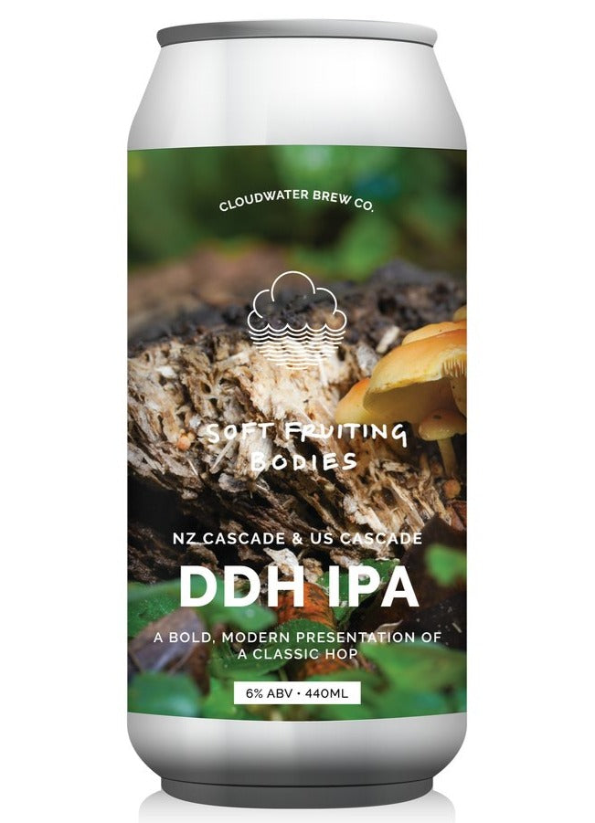 Cloudwater - Soft Fruiting Bodies - DDH IPA - 440ml Can