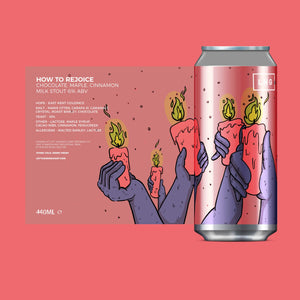Left Handed Giant - How to Rejoice - Milk Stout 440ml Can