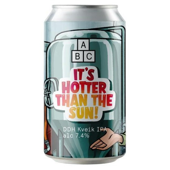Alphabet Brewing Co - It's Hotter Than The Sun! - DDH Kveik IPA - 330ml Can