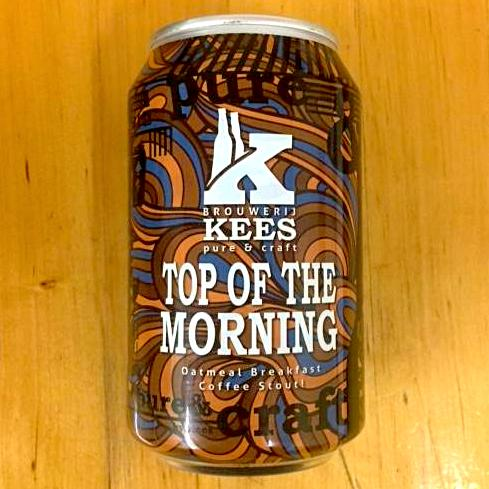 Brouwerij Kees - Top of the Morning - Oatmeal Breakfast Coffee Stout - 330ml Can