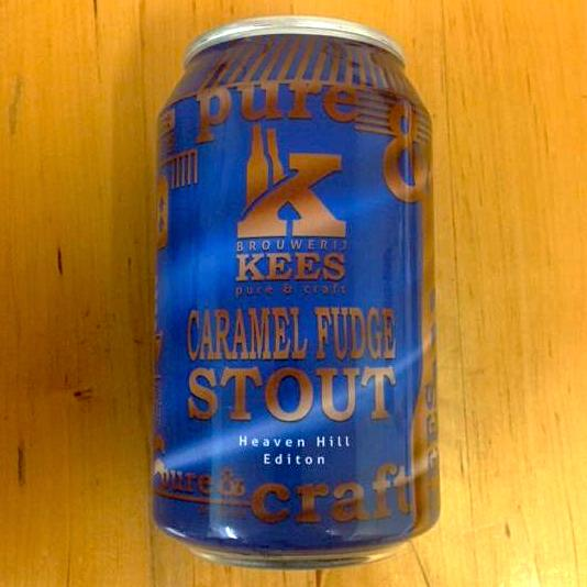 Brouwerij Kees - Caramel Fudge Stout - Heaven Hill Edition - 330ml Can
