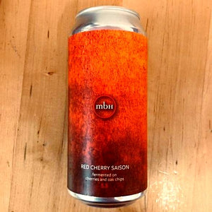 Mobberley Brewhouse - Red Cherry Saison - 440ml Can