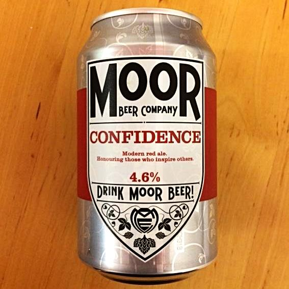 Moor Beer Company - Confidence  - Modern Red Ale - 330ml Can
