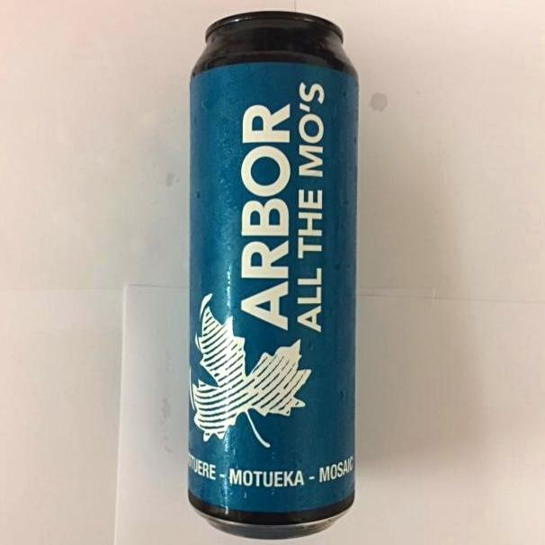 Arbor Ales - All The Mo's - Hoppy Pale - 568ml Can