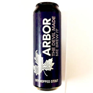 Arbor Ales - The Devil Made Me Brew It - Dry Hopped Stout - 568ml Can