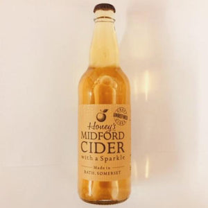 Honey's Cider - Midford Unrefined Cider - 500ml Bottle