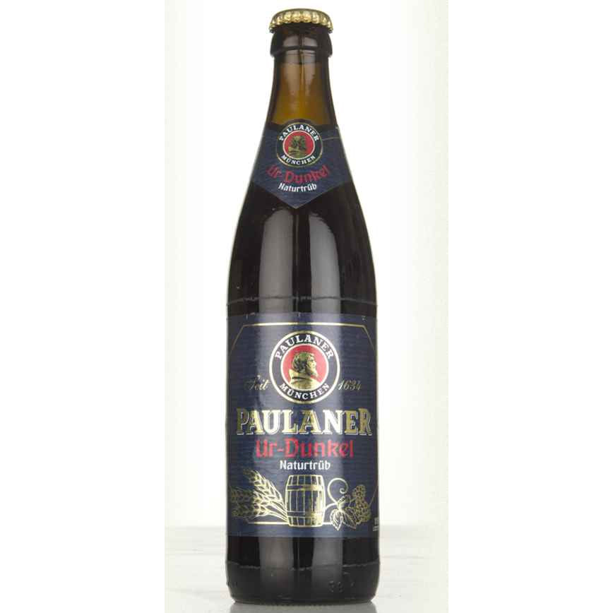 Paulaner Brewery - Ur-Dunkel Naturtrub - 500ml Bottle