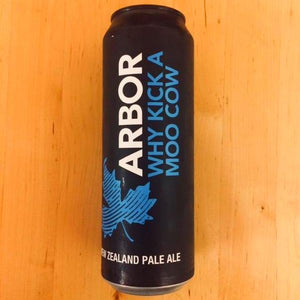 Arbor Ales - Why Kick a Moo Cow - New Zealand Pale Ale - 568ml Can
