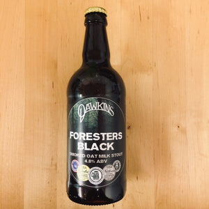 Dawkins - Forresters Black - Smoked Oat Milk Stout - 500ml Bottle