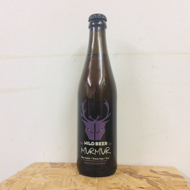 Wild Beer - Murmur - Wine Yeasts + Brut - 330ml Bottle