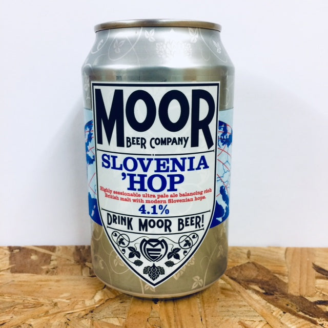 Moor Beer Company - Slovenia'Hop - Ultra Pale Ale - 330ml Can