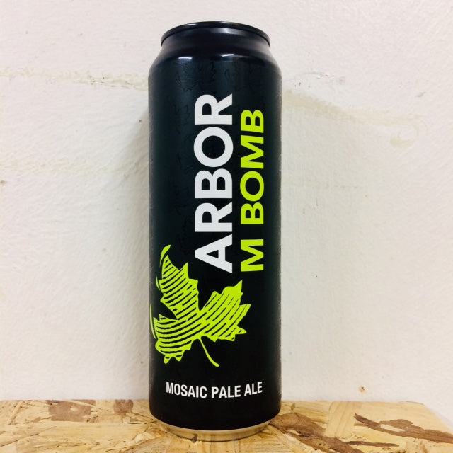 Arbor Ales - M Bomb - Mosaic Pale Ale - 568ml Can