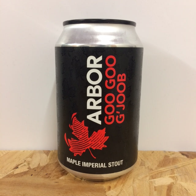 Arbor Ales - Goo Goo G'Joob - Maple Imperial Stout - 330ml Can