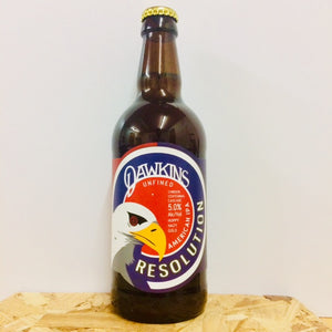Dawkins - Resolution - American IPA - 500ml Bottle