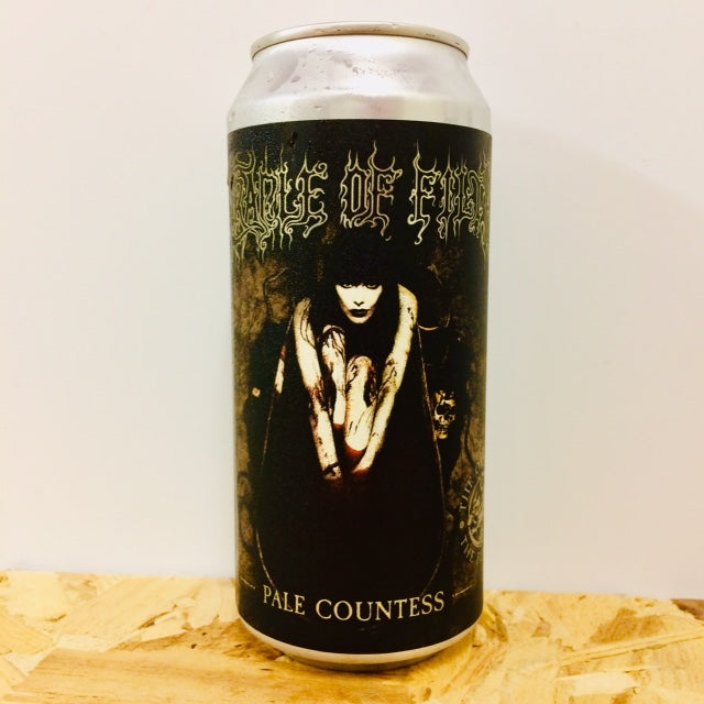 Electric Bear Brewing - Cradle of Filth 'Pale Countess' - English Pale Ale - 440ml Can