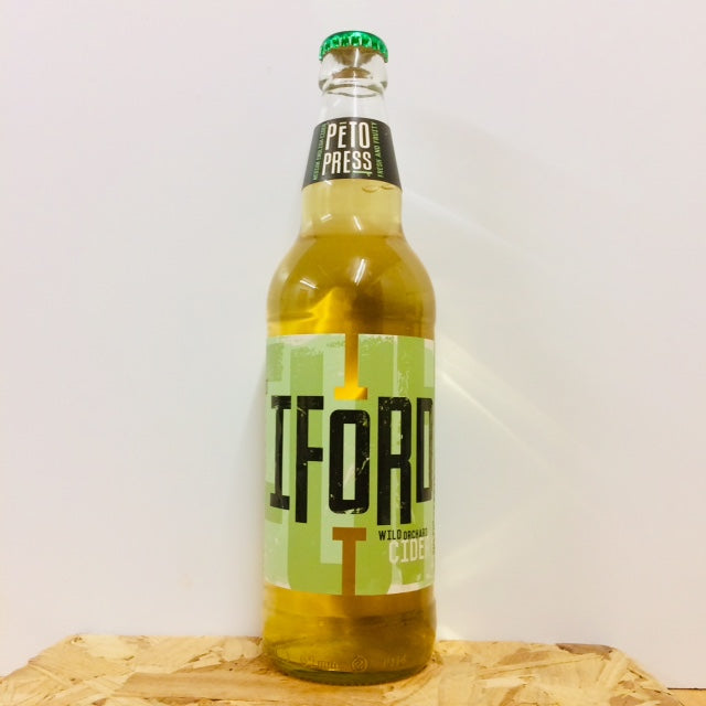 Iford Cider - Peto Press - Medium Dry Cider - 500ml Bottle