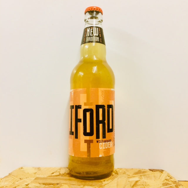 Iford Cider - New Tradition - Still Medium Dry Cider - 500ml Bottle