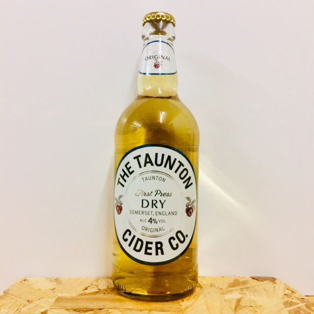 Taunton Cider - Dry Cider - 500ml Bottle