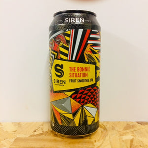Siren Craft Brew - The Bonnie Situation - Fruit Smoothie IPA - 440ml Can