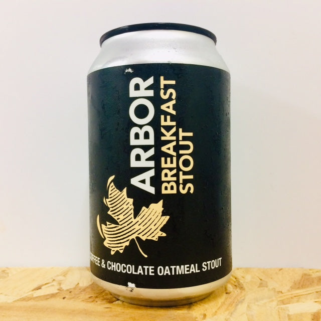 Arbor Ales - Breakfast Stout - Coffee & Chocolate Oatmeal Stout - 330ml Can