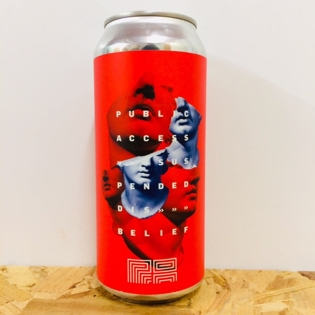 Public Access Liquids - Suspended Disbelief - DDH Double India Pale Ale - 473ml Can