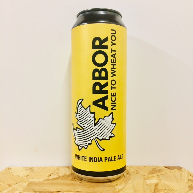 Arbor Ales - Nice to Wheat You - White India Pale Ale - 568ml Can