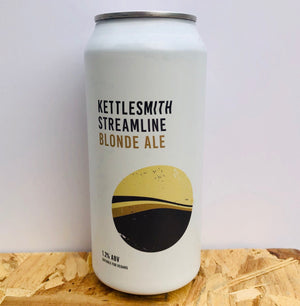 Kettlesmith Brewing - Streamline - Blonde Ale - 440ml Can