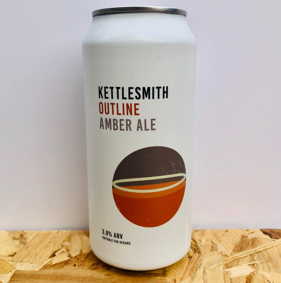 Kettlesmith Brewing - Outline - Amber Ale - 440ml Can