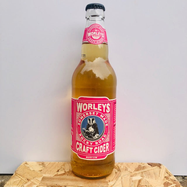 Worley's Cider - Rocky Road - Medium Cider - 500ml Bottle