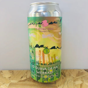 Electric Bear Brewing - I'd Guava Drink Werrrd! - American Pale Ale - 440ml Can