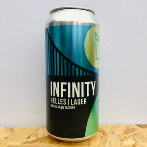 Bristol Beer Factory - Infinity - Helles Lager - 440ml Can