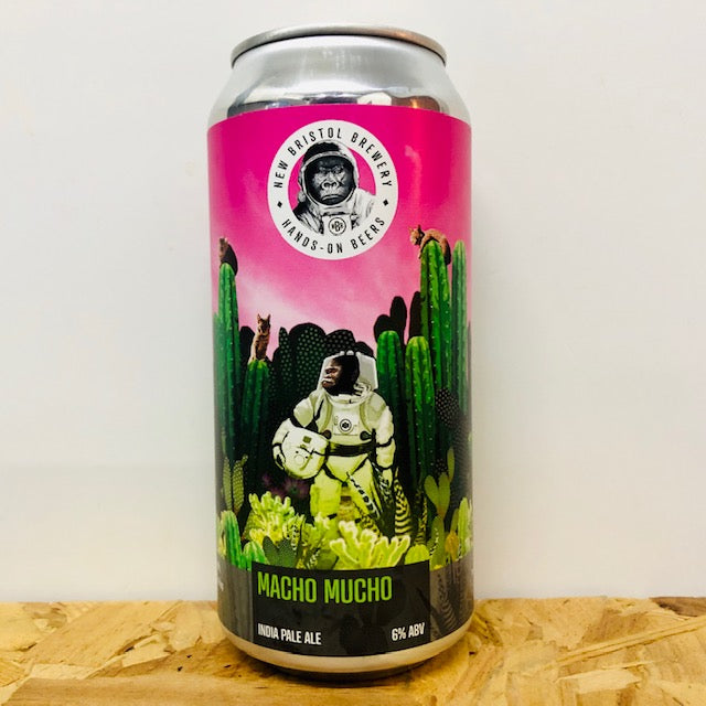 New Bristol Brewery - Macho Mucho - India Pale Ale - 440ml Can