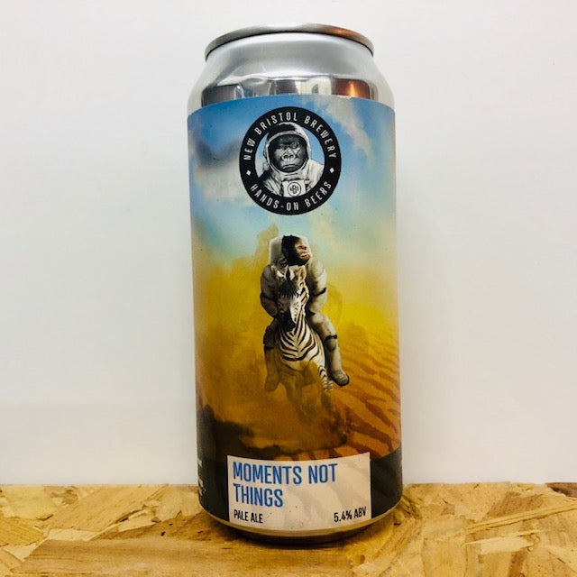 New Bristol Brewery - Moments Not Things - Pale Ale - 440ml Can